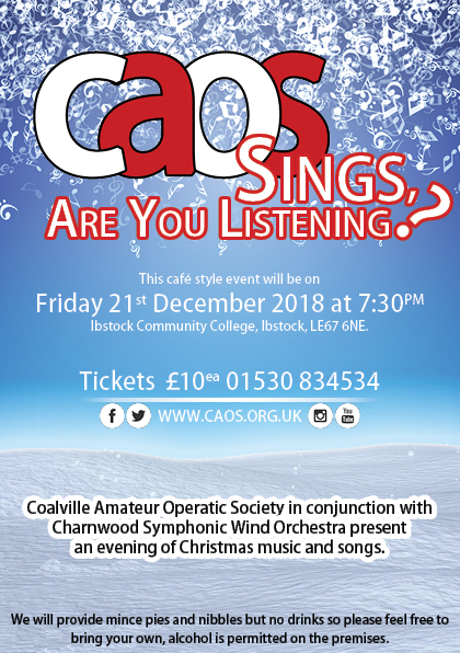 CAOS Sings – Coalville Amateur Operatic Society